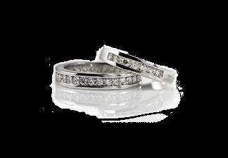 Diamond Wedding Rings</br>Value: $11,000